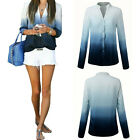New Women Fashion Loose Pullover Tops Long Sleeve Shirt Casual Blouse