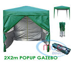 Mcc® Premier 2X2m Pop-up Gazebo waterproof coating layer Marquee Canopy