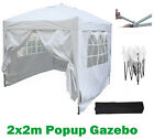 Mcc® Premier 2X2m Pop-up Gazebo waterproof coating layer Marquee Canopy WS