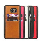 Luxury TPU Leather Card Pocket Case Cover Skin For Samsung Galaxy Note 5 N9200