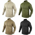 Condor #603 Thermal Fleece BASE II Zip Pullover Operator Tactical Jacket Shirt