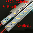 1m 0.5m 0.25m 8520 LED Strip Rigid Bar Aquarium Light Aluminum Tank Shell DC 12V