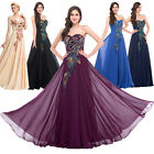 PLUS SIZE 2-24W Long RETRO Peacock Masquerade Ball Gown Party Evening Prom Dress