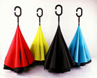 2 Layer Upside Down Umbrella Reverse designer Opposite folding umbrella 4 Color