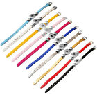 10 colors PU snap button bracelet fit 18mm chunk armband jewelry