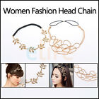 Hot Women Fashion Metal Head Chain Jewelry Golden Headband Head Piece Hair band