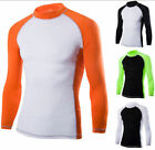 British Style Men's Fast Drying T-Shirts New Stretch Sports Casual Blouse Sweats