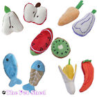 Cat Kitten Pet Play Fetch Chase Pounce Catnip Tasty Food Two Toy Set