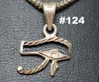 Hall marked Egyptian, Pharaonic, Authentic Silver Pendant, Scarb, Ankh, Variety