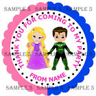 PRINCESS & SUPERHERO Stickers for party bags/Sweet Cones, My/Our Party, Rf 03-24