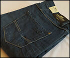 MENS DESIGNER STYLE Crosshatch DENIM BLUE JEANS BOOTCUT REGULAR FIT ROCHESTER SW