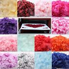 200pcs. SILK FLOWER ROSE PETALS WEDDING PARTY TABLE CONFETTI venue DECORATIONS