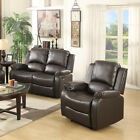 Sofa Set Loveseat Couch Recliner Leather 3 2 1 Seater Living Room Furniture