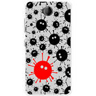 Black Monsters With Virus Design Hard Case For Microsoft Lumia 650