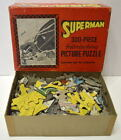 ACTION COMICS 15 SUPERMAN COVER PUZZLE 1940 SAALFIELD PUZZLE w ORIGINAL BOX RARE
