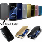 For Samsung Galaxy S6 / Edge / Plus Leather Magnetic Protector Cover Smart Case