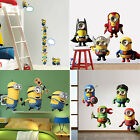 Despicable Me Removable Wall Sticker Kids Room Home Decor Art Decals Nursery