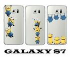 for Samsung Galaxy S7 - SOFT TPU RUBBER SILICONE SKIN CASE COVER MINION INVASION