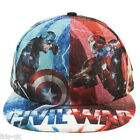 New Era Marvel 59fifty Civil War X All Over Iron Man & Captain America Hat Cap