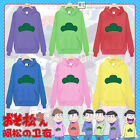 6 Color Mr. Osomatsu-san Kun Japanese Anime Hoodie Hoody Sweater Cosplay Costume