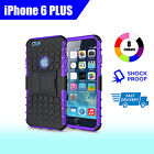 Premium Heavy Duty Shock Proof Tough Cover Case for Apple iPhone 6Plus