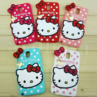 HelloKitty Silicone Soft Back Case Cover For Samsung Galaxy Note 4 & Note 3 & S5