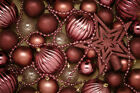 Shatterproof Pink Silver Gold Red Blue Christmas Tree Baubles Set Pack