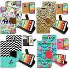Folding PU Leather Skin Wallet Stand Phone Case Cover For LG Optimus L90 D405