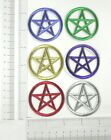 Kyпить Pentacle Pentagram Wiccan Iron On Patch Applique 2
