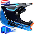 100% Aircraft BI Turbo Blue Downhill Mountain Bike Carbon Fibre + Free Goggles
