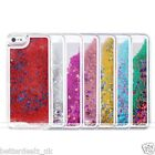 Unique Glitter Stars Bling Dynamic Liquid Quicksand Case Cover For iPhone 5/5S