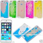 Cute Dolphin Dynamic Liquid Quicksand Hard Back Case Cover For iPhone 6/6S 4.7""