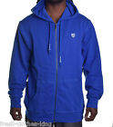 Artful Dodger Men's $128 Hiest Blue Hoodie Jacket Size Medium