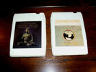 Cat Stevens EIGHT TRACK TAPE Lot of 2: Buddha Chocolate Box, Catch Bull At Four