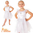 Toddler White Fairy Costume Girls Angel Book Week Day Fancy Dress Outfit New