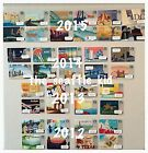 Starbucks Complete Set of City Cards - 2012, 2013, 2014, 2015 San Francisco NEW!
