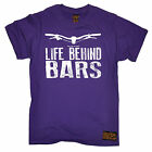 Life Behind Bars Mountain Bike T-SHIRT Cycling Cyclist Funny birthday gift