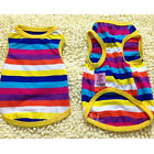 Pet Dog Cat Clothes Puppy Various Summer Vest T Shirt Dress Coat Apparel Costume
