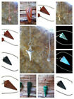 Pendulums choice of Carnelian, Obsidian, Malachite, Copper, Moss Agate