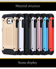 Coque Silicon + Hard PC armor Hybrid back Case Shockproof Galaxy s6 s7 edge+
