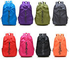 Lightweight Women Nylon Travel School Backpack Outdoor Satchel Candy Colorful