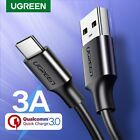 UGREEN USB-C 2.0 Type C FAST Sync&Charger Cable Fr Nexus 5X 6P LG G5 MAC OnePlus