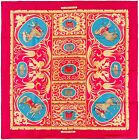 Authentic Hermes Silk Scarf LA PRESENTATION Christiane Vauzelles