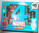 Bearbrick Marvel Be@rbrick 100% # 45 Fantastic Four The Thing Invisible Box Set