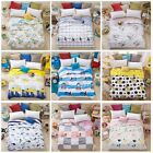 Cotton Summer Comforter Thin Quilt Throw Blanket Floral Full/Queen Size