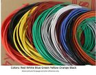 *FCB*USA 5m 10m 15m Flexible Strand Wire. 1-7 colors. gauge of flexible jumpwire