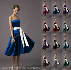 Long sash party prom bridesmaid ball cocktail evening pageant pageant dress