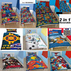 Characters Children Kids single duvet quilt cover bedding sets with pillow cases