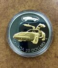 {BJSTAMPS}  2003 CANADA $20 Gold plated Sterling silver in case the BRICKLIN car