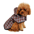 NEW Dog Raincoat Pet Jacket Puppy Clothes Waterproof Coat Hoodie Design UK Stock